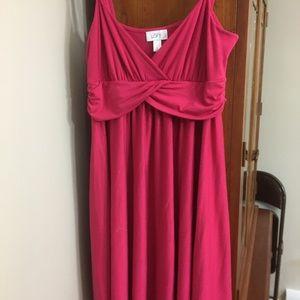 Cotton sleeveless summer dress.